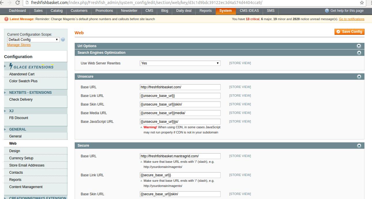 update base url update base urls