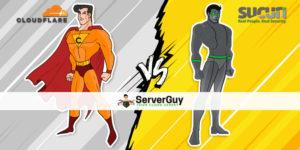 Cloudflare vs Sucuri