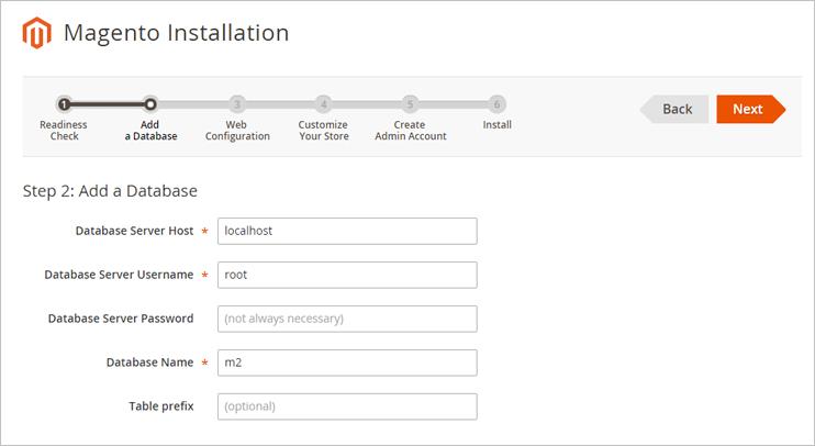 install magento 2 step2 Install Magento 2