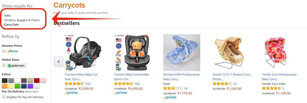 Outrank Amazon