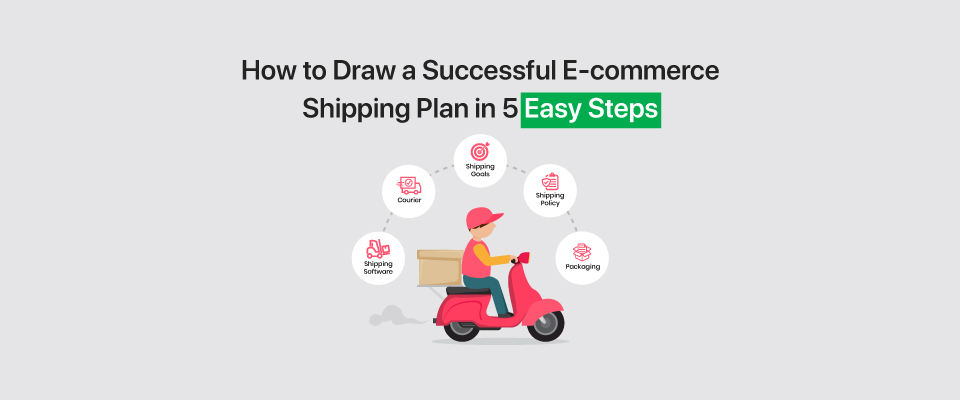 How to Draw a Successful E-commerce Shipping Plan in 5 Easy Steps