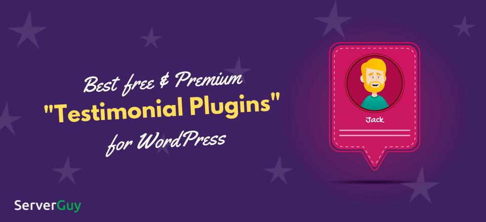 Testimonial Plugins for WordPress Blog Banner