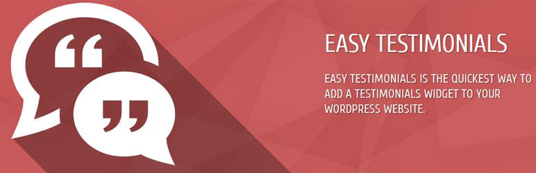 Easy Testimonials for WordPress