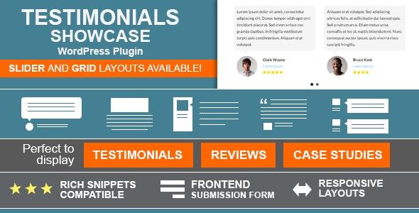 Testimonial Showcase - Premium for WordPress