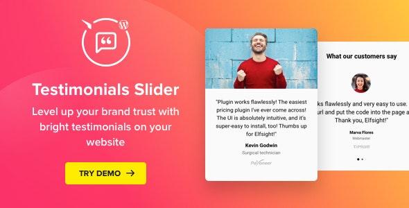 Testimonials Slider - Premium for WordPress