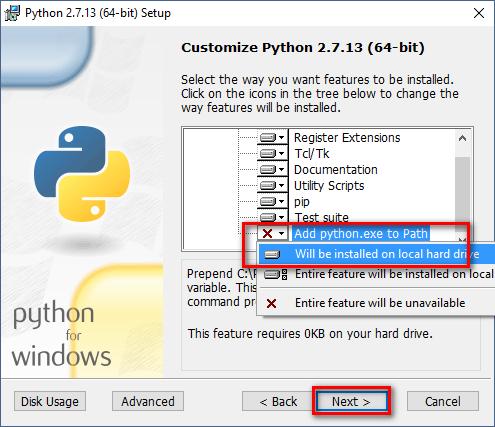 3 Installing Python on Windows