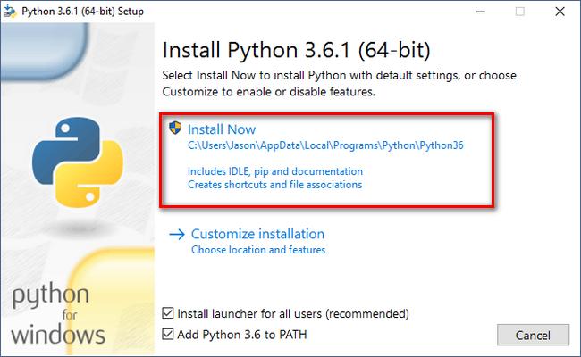 4 Installing Python on Windows