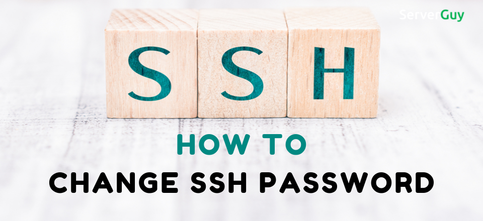 How to Change SSH Password from the Cli?