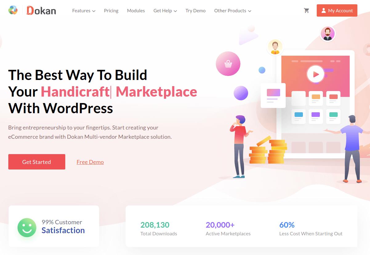Dokan WooCommerce Multi Vendor Plugin