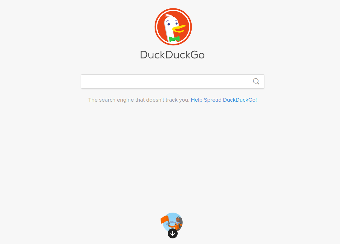 Google alternative search engines : DuckDuckGo