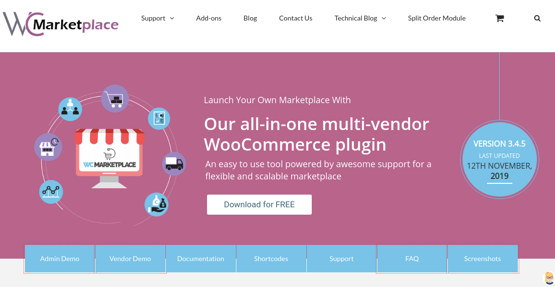WC Marketplace WooCommerce Multi Vendor Plugin