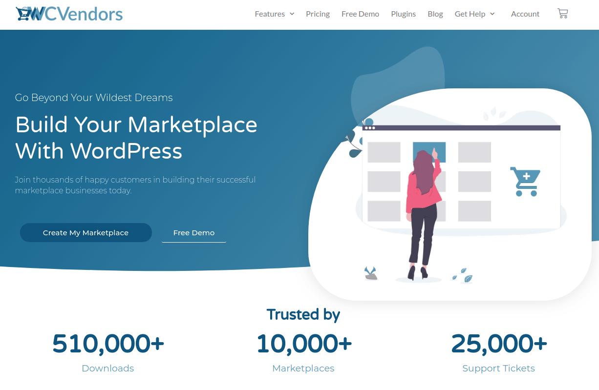 WooCommerce Multi Vendor Plugin WC Vendors Marketplace