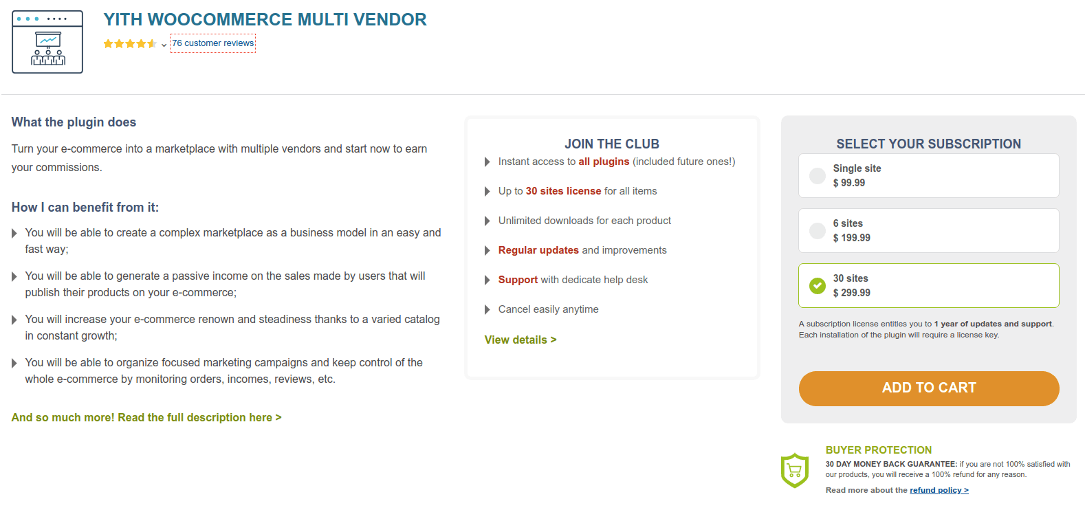 YITH WooCommerce Multi Vendor WooCommerce Multi Vendor Plugin