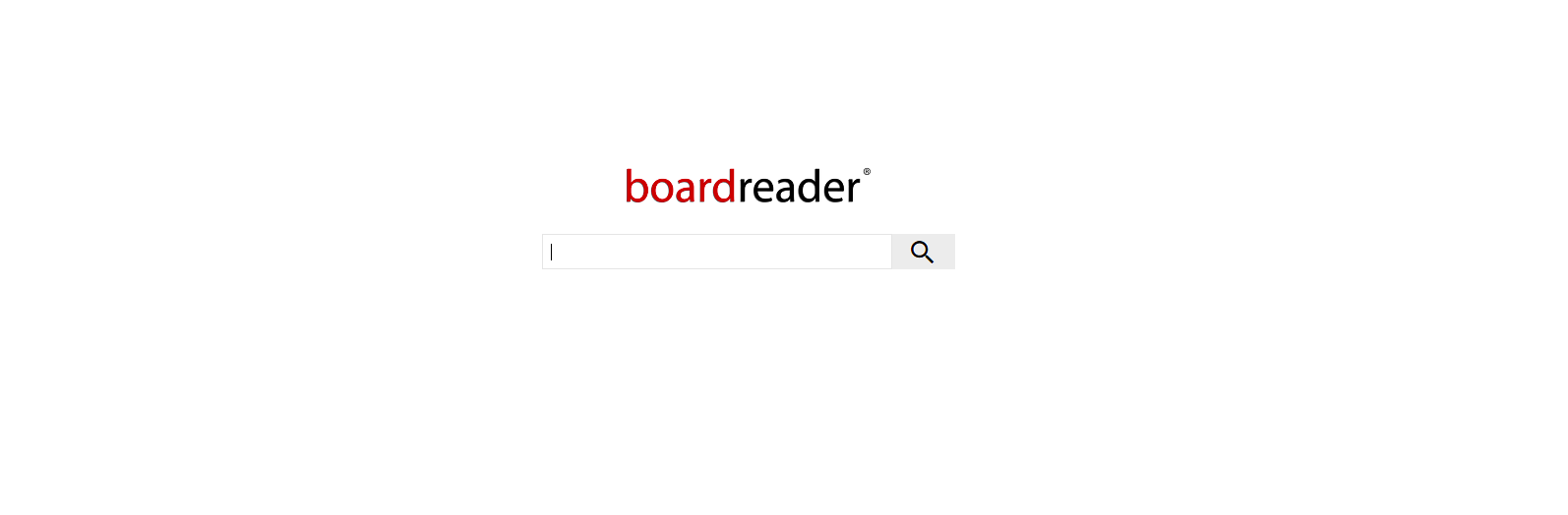 Boardreader a Forum Search Engine