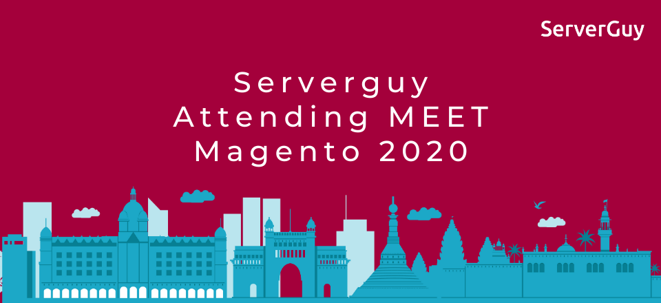 ServerGuy attending the Meet Magento India 2020