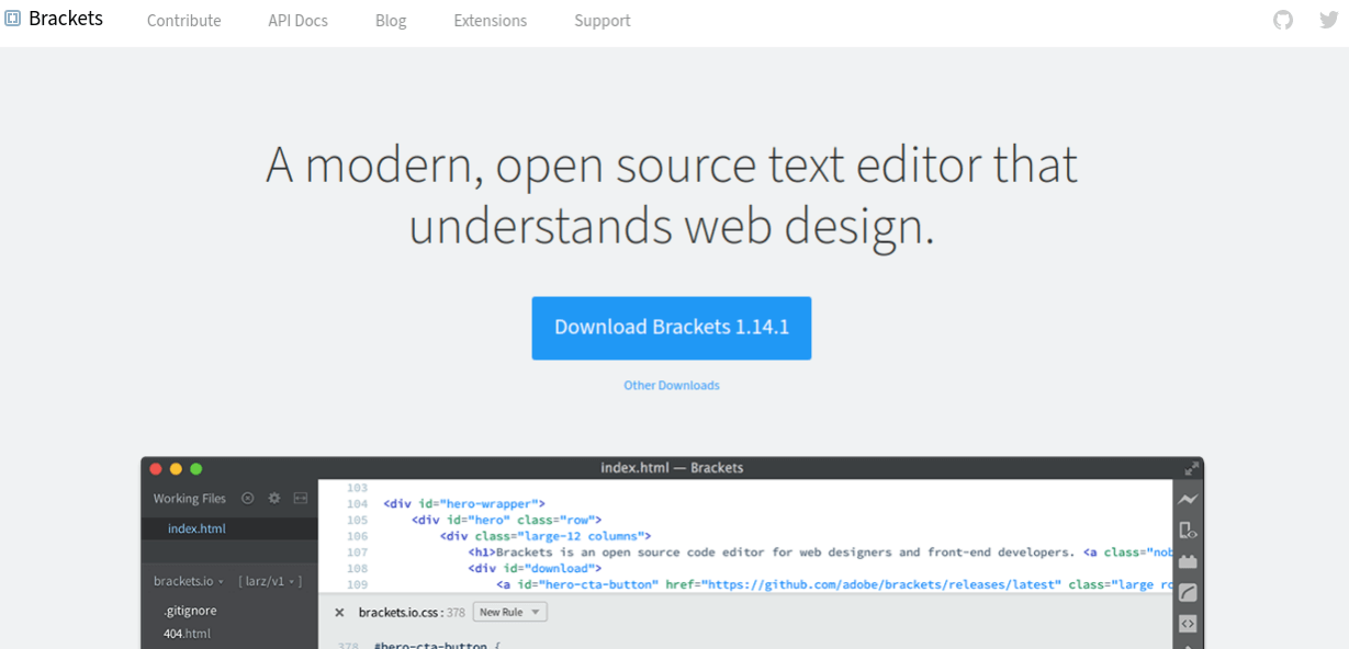 brackets best php editor