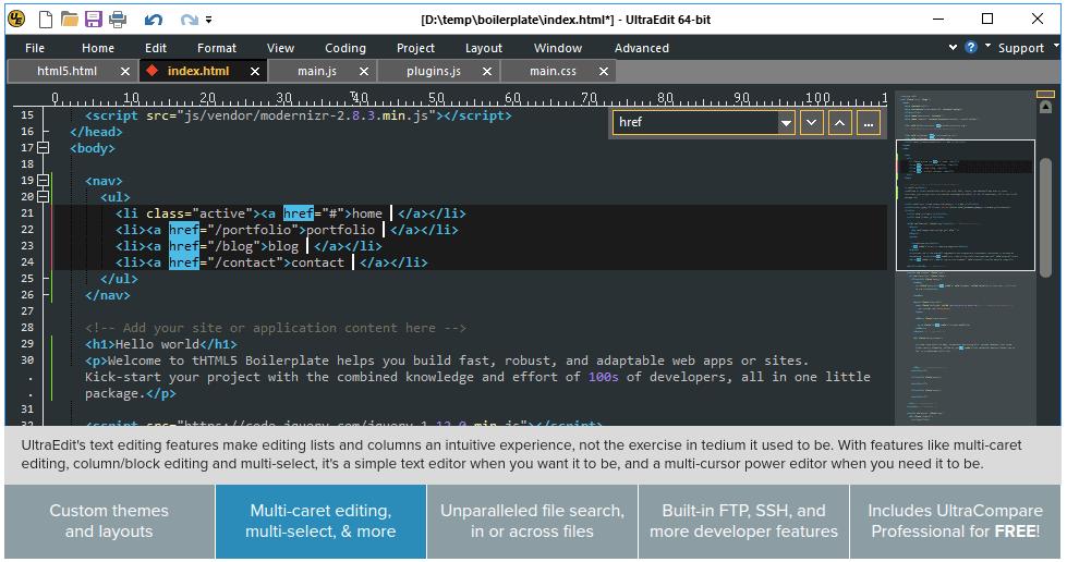 ultraedit best PHP IDE