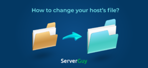 how to change your hosts file