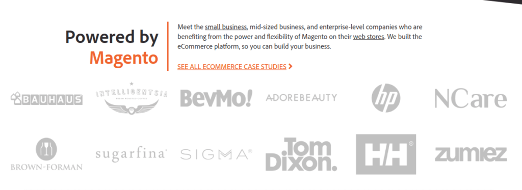 Magento PHP Open Source eCommerce Software