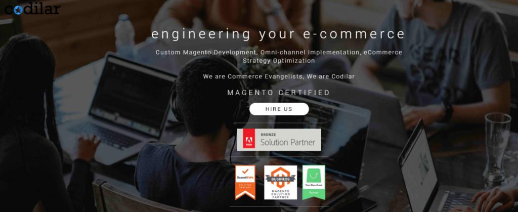codilar homepage