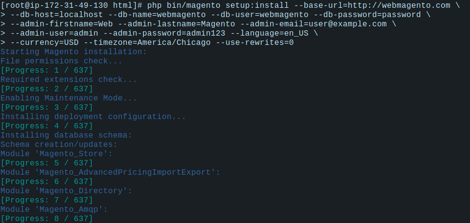 Screenshot 17from 2020 05 21 13 48 46 how to install magento on aws