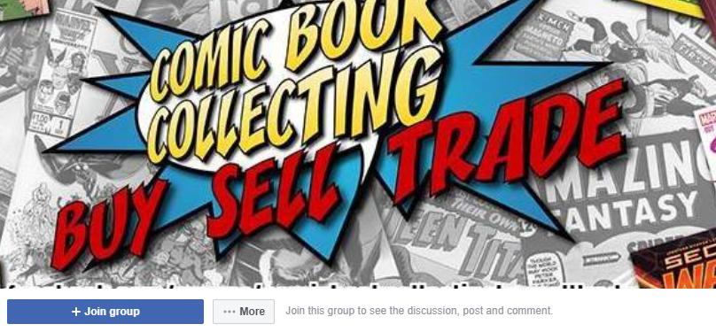 Facebook ComicSwap