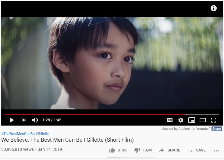 Gillette Vest Men Video
