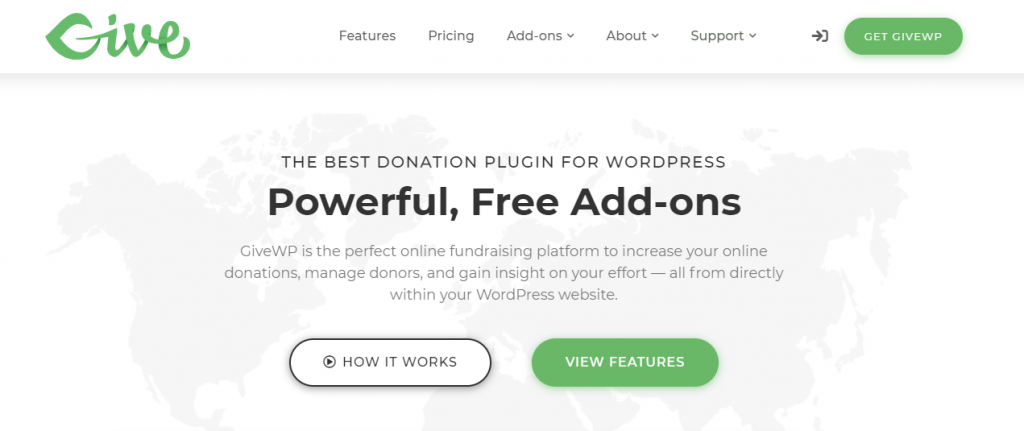 Tip Jar Plugins for WordPress GiveWP
