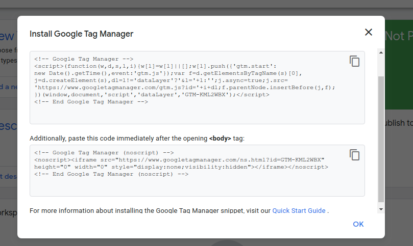 gtm4 3 Google Tag Manager