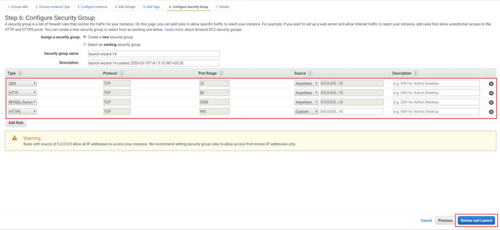screencapture7 console aws amazon com ec2 v2 home 1589877864303 1 how to install magento on aws