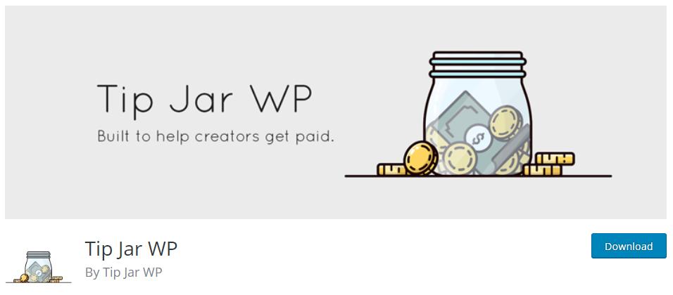 Tip Jar Plugins for WordPress Tip jar WP
