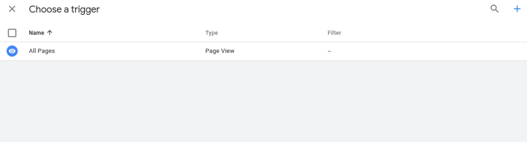 trigger Google Tag Manager