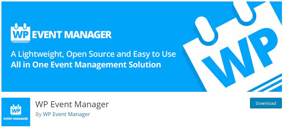 WP Event Manager WordPress Plugins for Event Registration