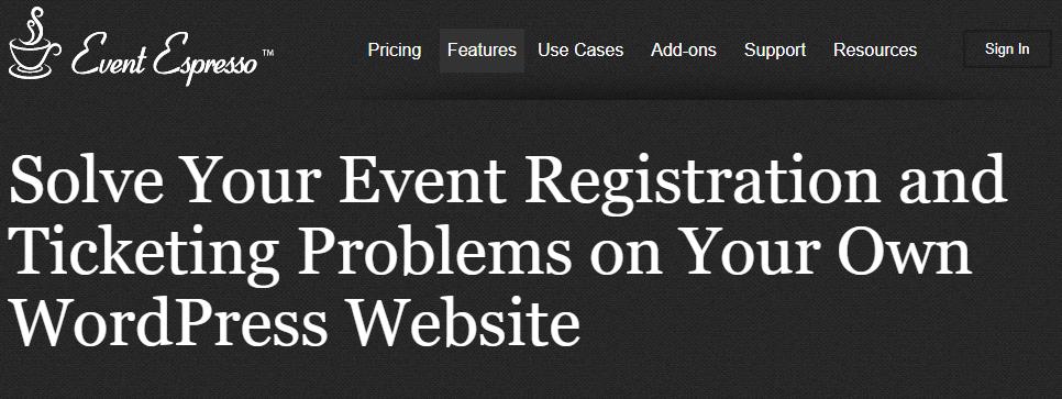 Event Espresso 4 Decaf WordPress Plugins for Event Registration