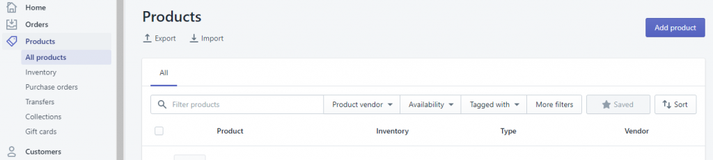 Shopify to WooCommcerce Export Shopify