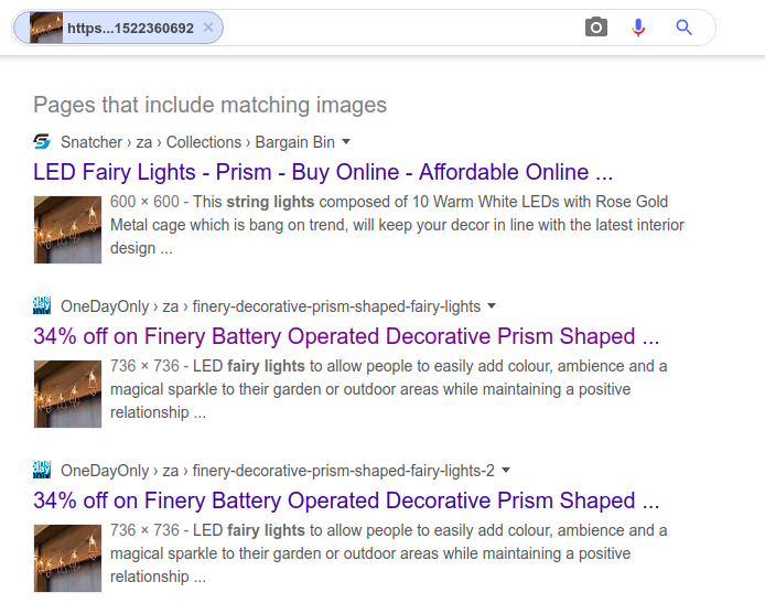 Google Image Search by Image