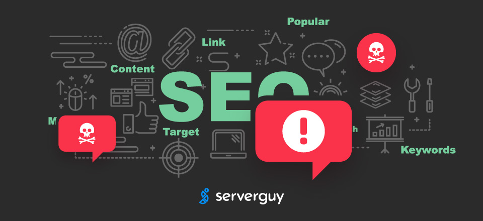 what is seo spam