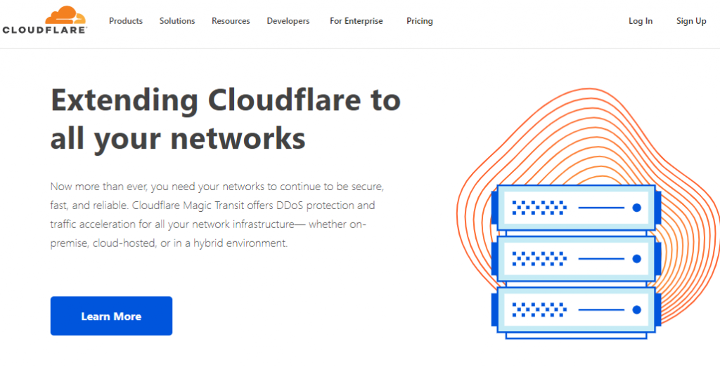 cloudflare Content Delivery Network