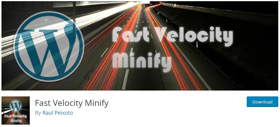 fast velocity minify 1 Minify JavaScript
