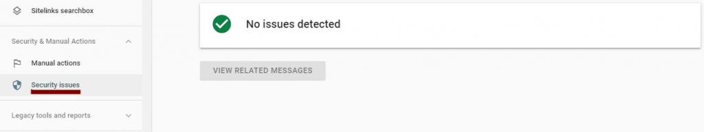 Search Console Google SEO Spam