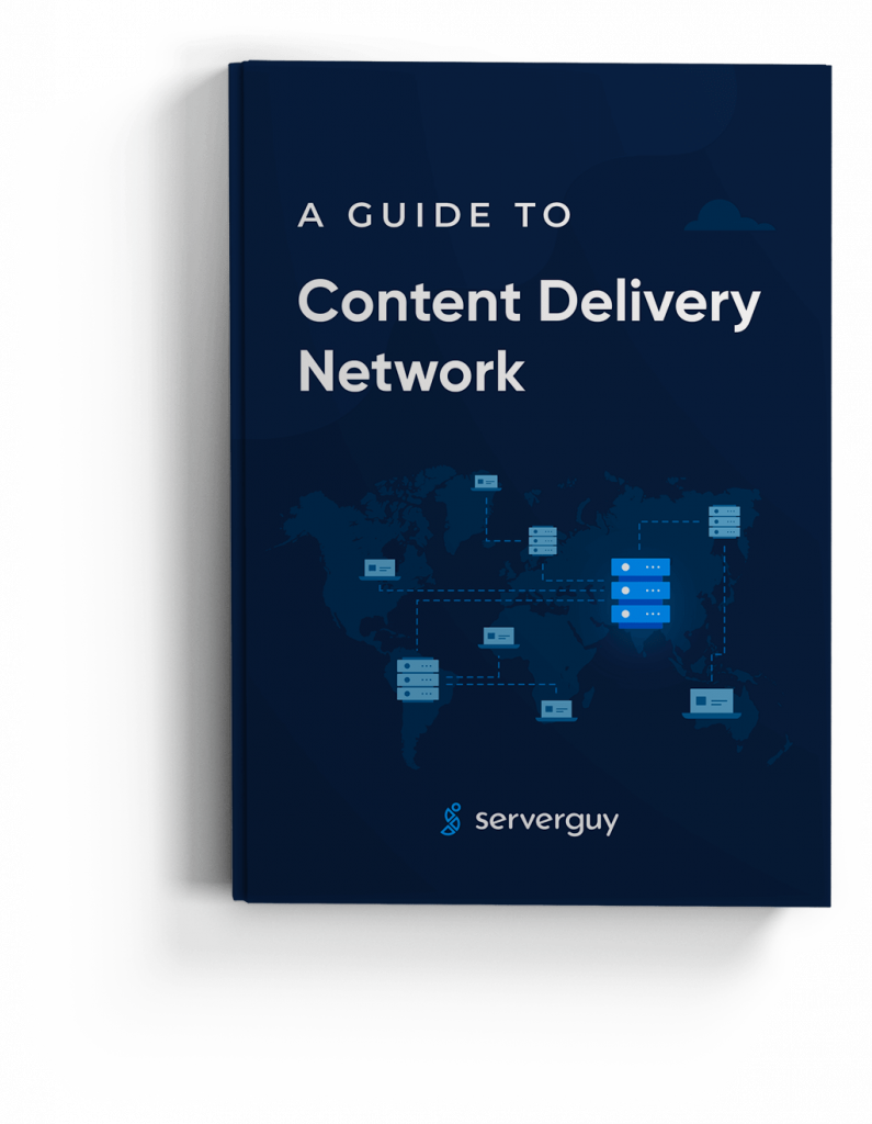 CDN Ultimate Guide eBook Cover Mockup