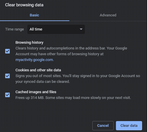 ERR_SSL_VERSION_INTERFERENCE Solve Chrome Data