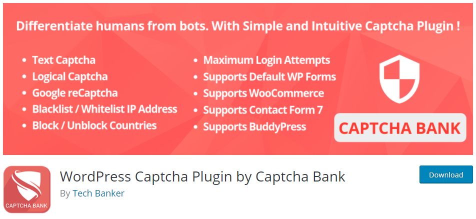 Enable Captcha for Brute Force ATtack