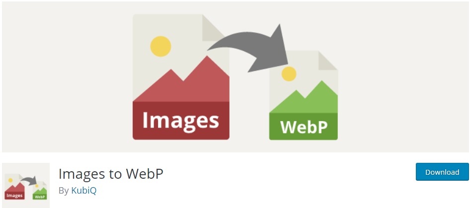 Images to WebP WordPress Plugin