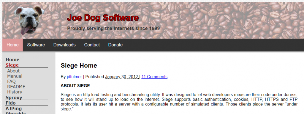siege testing for load Open Source eCommerce Load Testing Tools