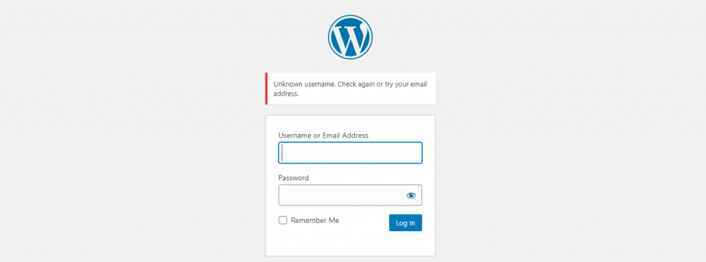 WordPress site is hacked:  Login changed