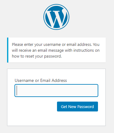 forgot passwor resetting WordPress Password Security