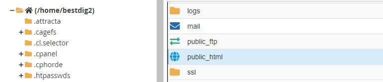 Public Html Directory