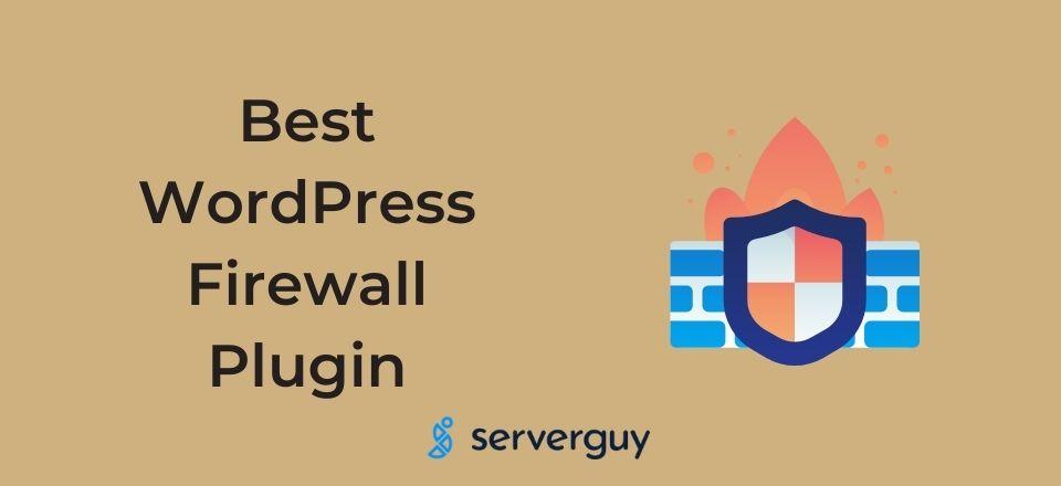 Best WordPress Firewall Plugin