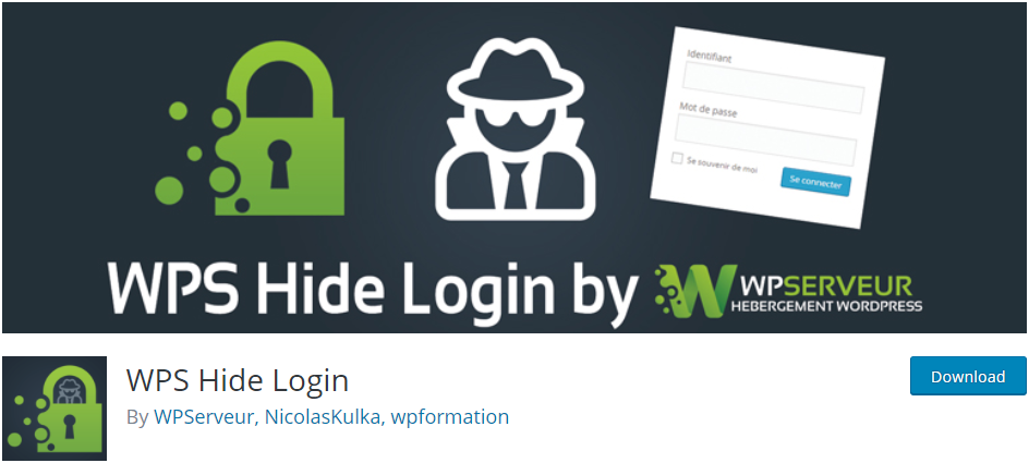 Change WordPress Login URL with WPS Hide